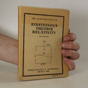 náhled knihy - Einsteinova theorie relativity
