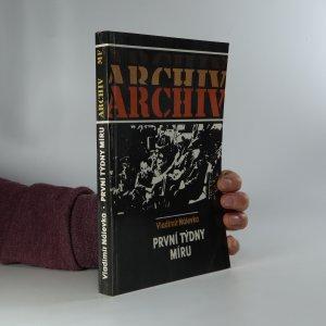 náhled knihy - První týdny míru