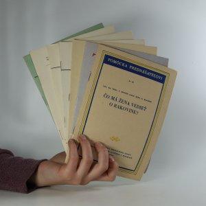 náhled knihy - Brožurky o těhotenství (7 svazků)