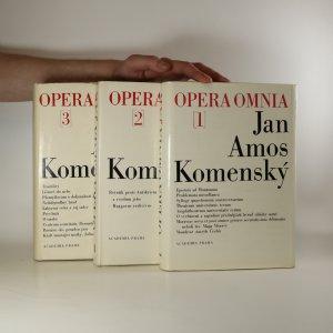 náhled knihy - Dílo Jana Ámose Komenského. I.-III. díl (3 svazky, viz foto)