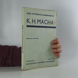 náhled knihy - K. H. Mácha. Několik pohledů