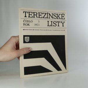 náhled knihy - Terezínské listy 3/1973