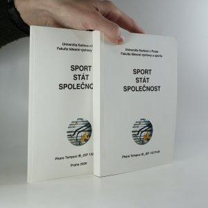 náhled knihy - Sport, stát, společnost (včetně dodatku)