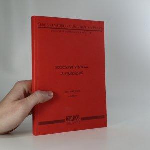 náhled knihy - Sociologie venkova a zemědělství