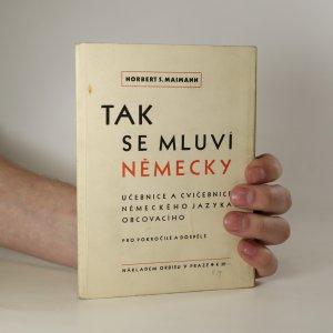 náhled knihy - Tak se mluví německy