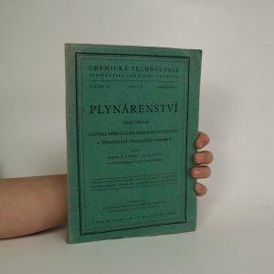 náhled knihy - Plynárenství. Část II. Čištění, měření, uskladňování svítiplynu a zpracování vedlejších výrobků