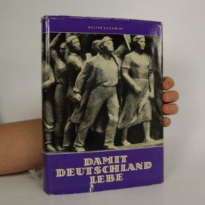 náhled knihy - Damit Deutschland lebe