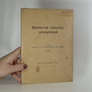 náhled knihy - Barevné tabulky analytické (s 27 barevnými vyobrazeními)