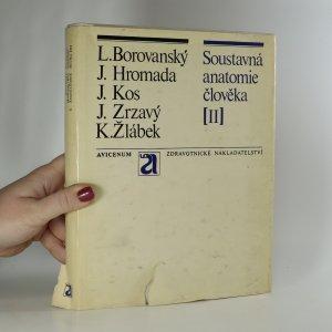 náhled knihy - Soustavná anatomie člověka. II. díl