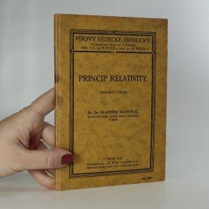 náhled knihy - Princip relativity