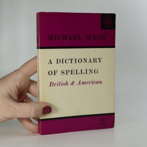 náhled knihy - A dictionary of spelling. British and american
