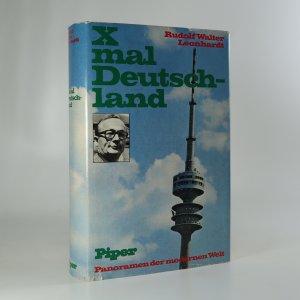 náhled knihy - X-mal Deutschland