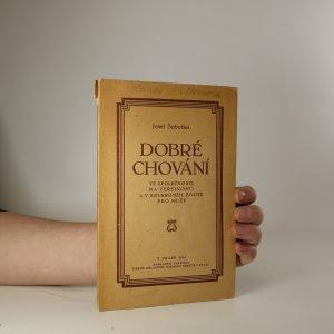 náhled knihy - Dobré chování ve společnosti, na veřejnosti a v soukromém životě pro muže