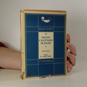 náhled knihy - Proudy v současné filosofii