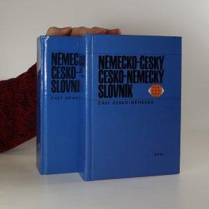 náhled knihy - Německo-český a česko-německý slovník. (Dvě části ve dvou svazcích)