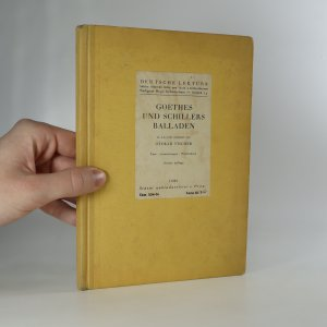 náhled knihy - Goethes und Schillers Balladen