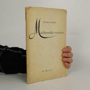 náhled knihy - Máchovské variace