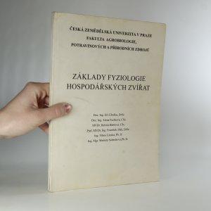 náhled knihy - Základy fyziologie hospodářských zvířat