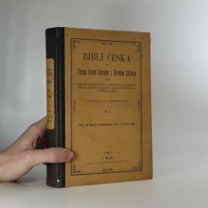 náhled knihy - Biblí česká, čili, Písmo svaté starého i nového zákona 2. díl