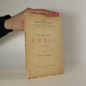náhled knihy - Cenci