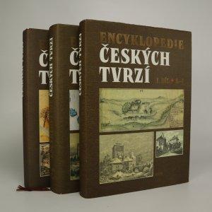 náhled knihy - Encyklopedie českých tvrzí I.-III. díl (kompletní, ve třech svazcích)