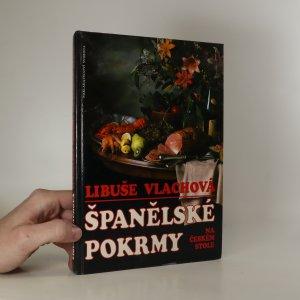 náhled knihy - Španělské pokrmy na českém stole