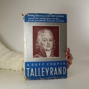 náhled knihy - Talleyrand