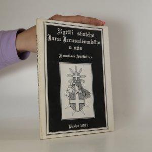 náhled knihy - Rytíři svatého Jana Jerusalémského u nás