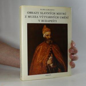 náhled knihy - Poklady světového malířství v Budapešti
