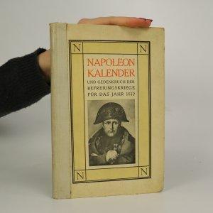 náhled knihy - Napoleon Kalender und Gedenkbuch der Befreiungskriege für das Jahr 1812