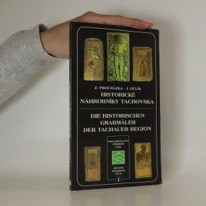 náhled knihy - Historické náhrobníky Tachovska. Die historischen Grabmäler der Tachauer Region