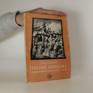 náhled knihy - Italská majolika
