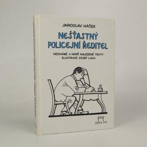 náhled knihy - Nešťastný policejní ředitel
