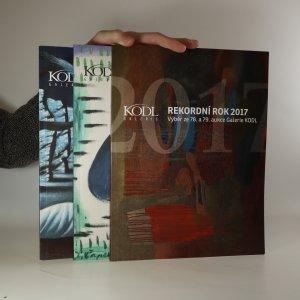 náhled knihy - Rekordní rok 2017. 80. aukční den galerie Kodl. 81. aukční den galerie Kodl. (3 svazky)
