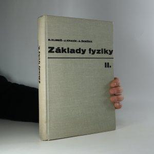 náhled knihy - Základy fyziky II. Elektřina a magnetismus, optika, speciální teorie relativity
