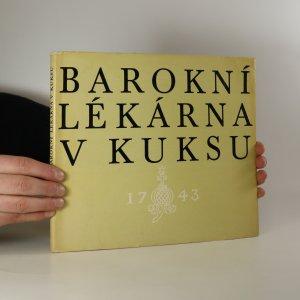náhled knihy - Barokní lékárna v Kuksu