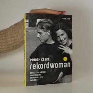 náhled knihy - Příběh české rekordwoman