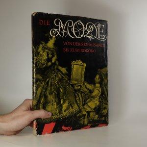 náhled knihy - Die Mode von der Renaissance bis zum Rokoko