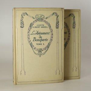 náhled knihy - L'Avénemet de Bonaparte 1.-2. díl (2 svazky).