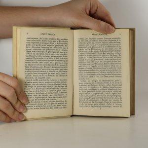antikvární kniha L'Avénemet de Bonaparte 1.-2. díl (2 svazky)., neuveden