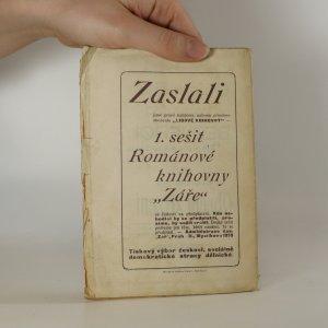 antikvární kniha Člověk prostodušný , 1908