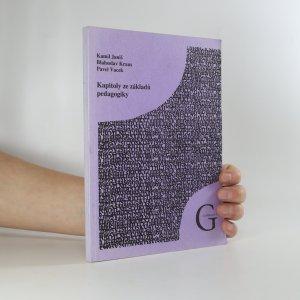 náhled knihy - Kapitoly ze základů pedagogiky