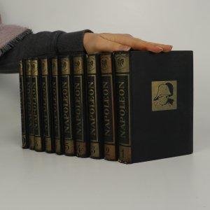 náhled knihy - Napoleon 1.-10. díl. (10 svazků).