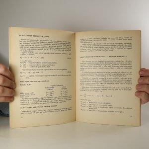 antikvární kniha Hospodaření teplem v průmyslových závodech, 1985