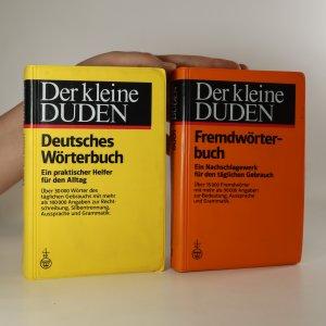 náhled knihy - Der kleine Duden. Deutsches Wörterbuch, Fremdwörterbuch (dva svazky)