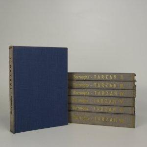 náhled knihy - Tarzan I-VII (7 svazků)