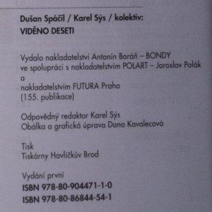 antikvární kniha Viděno deseti (s podpisy), neuveden