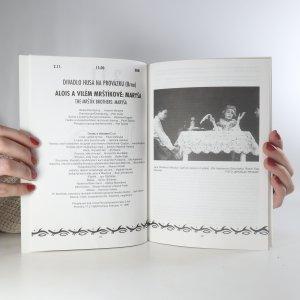 antikvární kniha 3. ročník mezinárodního festivalu Divadlo 95, 1995