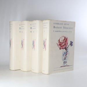 náhled knihy - Vybrané spisy Boženy Němcové I. - IV. (ve čtyřech svazcích)