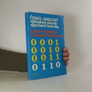 náhled knihy - Česko-anglický výkladový slovník výpočetní techniky. Czech-Englich Computer Vocabulary